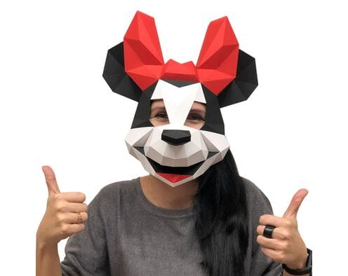Maska Myszka Minnie