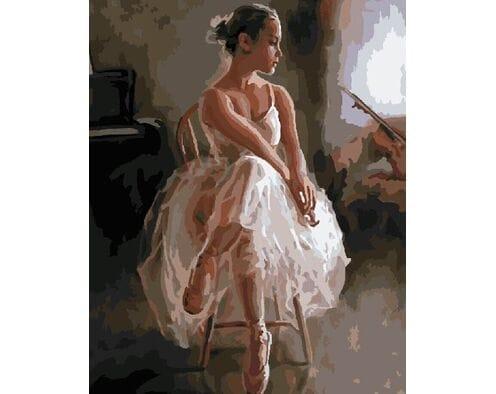 Młoda gwiazda baletu