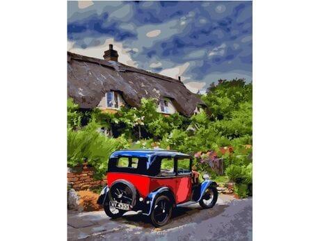 Po angielskich drogach malowanie po numerach