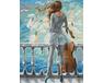 Morze i wiolonczela malowanie po numerach