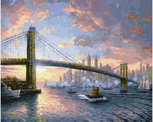 Most Brookliński. New York