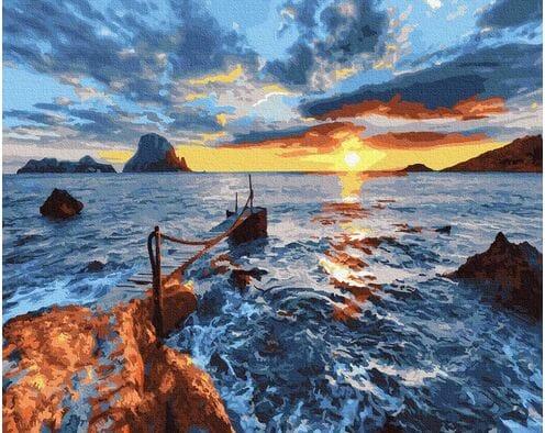 Zachód nad morzem