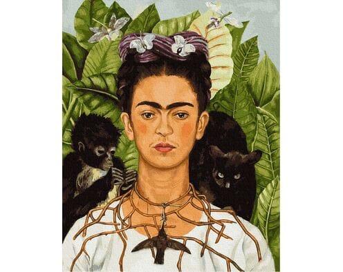 Frida Kahlo -  Autoportret
