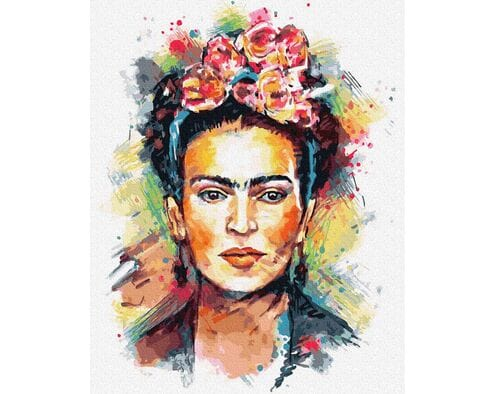 Frida Kahlo - decoupage