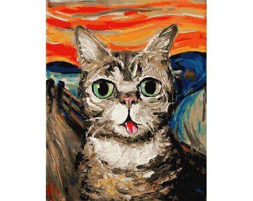 Krzyk - wersja Kot