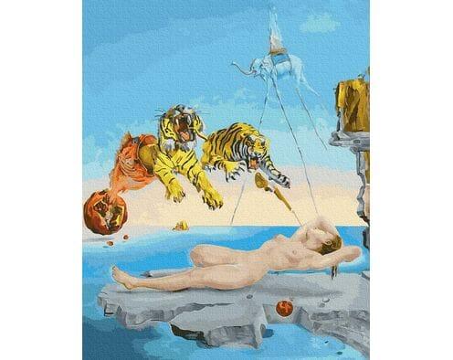 Salvadore Dali.Sen spowodowany lotem pszczoły