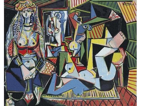 Pablo Picasso. Kobiety Algieru malowanie po numerach