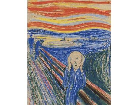 Edvard Munch. Krzyk malowanie po numerach
