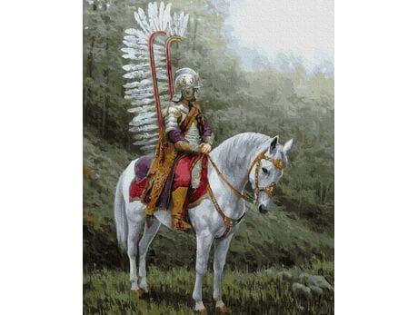 Skrzydlaty huzar -  Polska husaria malowanie po numerach