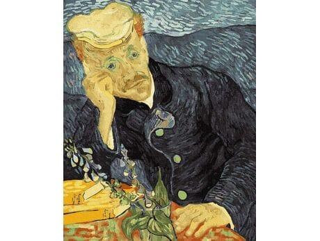 Van Gogh. Portret dr Gachet. malowanie po numerach