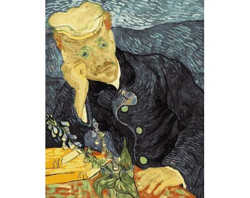 Van Gogh. Portret dr Gachet.
