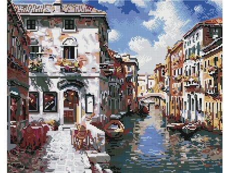 Romantyczna Venezia diamentowa mozaika