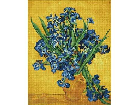 Irysy. Van Gogh diamentowa mozaika