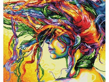 Kolorowe marzenia diamentowa mozaika