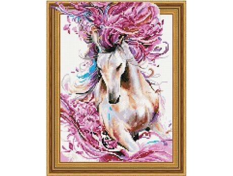 Koń z Bajki diamentowa mozaika