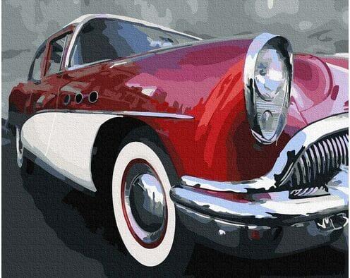 Klasyczny samochód oldschoolowy