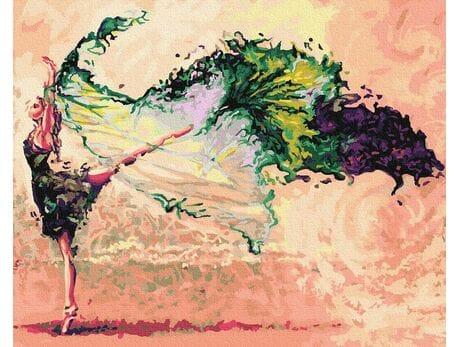 Bajeczny taniec malowanie po numerach