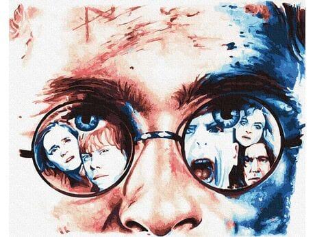 Harry Potter - Życie pośród Magii malowanie po numerach