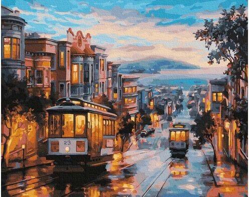 Uliczki San Francisco