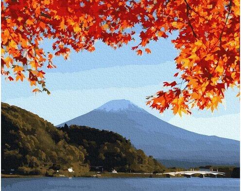 Fudżi  jesienią