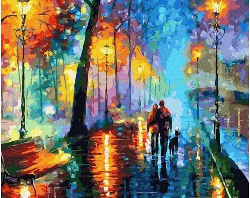 Spacer po deszczu