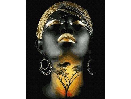 Ciepło Afryki malowanie po numerach