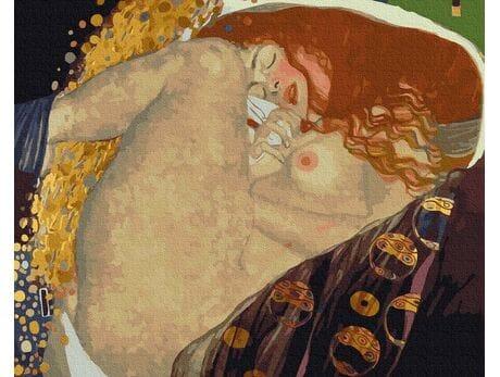 Gustav Klimt. Danae malowanie po numerach