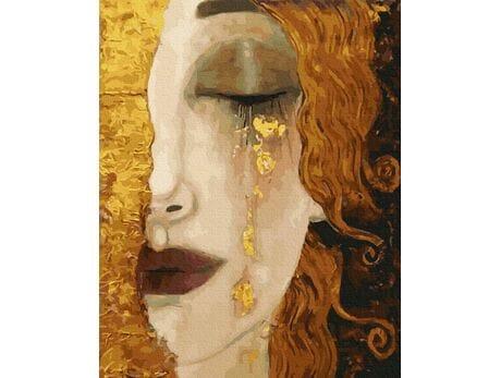 Gustav Klimt. Złote łzy malowanie po numerach