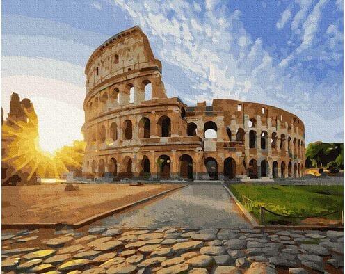 Koloseum w słońcu