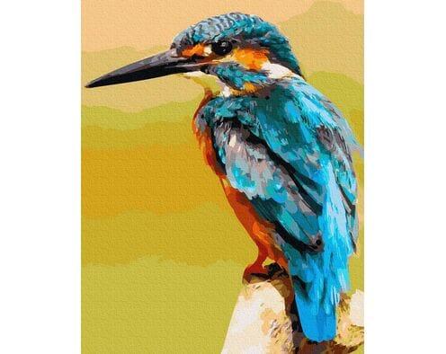 ZIMORODEK - król rybaków
