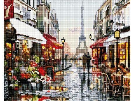 Kocham cię! Paryż! diamentowa mozaika
