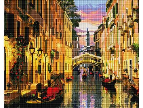 Wieczór w Wenecji diamentowa mozaika