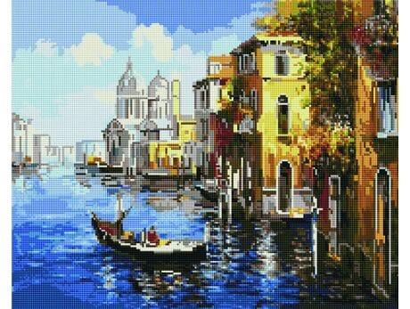Podróż po Wenecji diamentowa mozaika