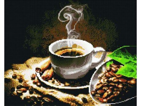 Aromat porannej kawy diamentowa mozaika