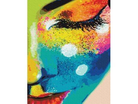 Kolorowa osobowość malowanie po numerach