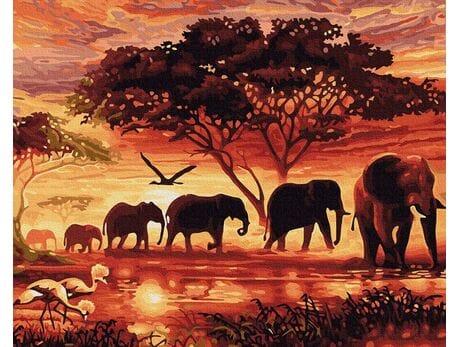 Duch Afryki malowanie po numerach