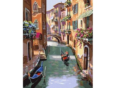 Bajeczne uliczki  Wenecji malowanie po numerach