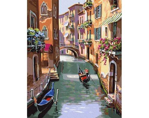 Bajeczne uliczki  Wenecji