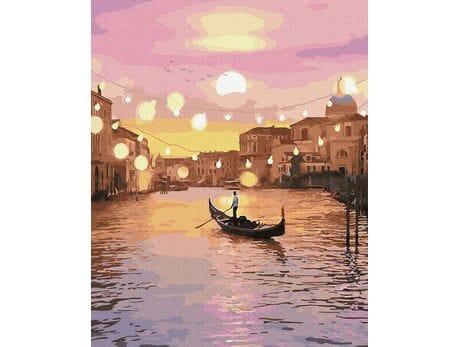Wenecja w blasku świateł malowanie po numerach
