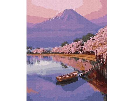 Wiosna w Japonii malowanie po numerach