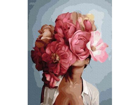 Ukryta w kwiatach malowanie po numerach