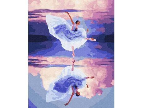 W tanecznym uniesieniu malowanie po numerach