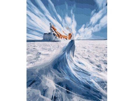 W krainie lodu malowanie po numerach