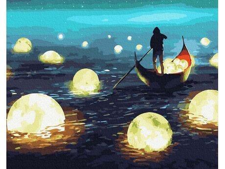Łowca księżyca malowanie po numerach