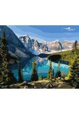 Piękno górskiego jeziora