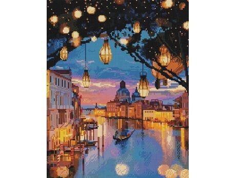 Lampki nad Wenecją diamentowa mozaika