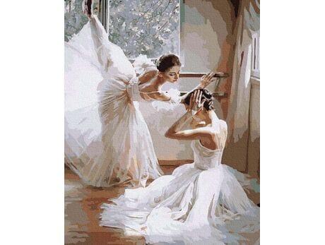 Baletnice malowanie po numerach