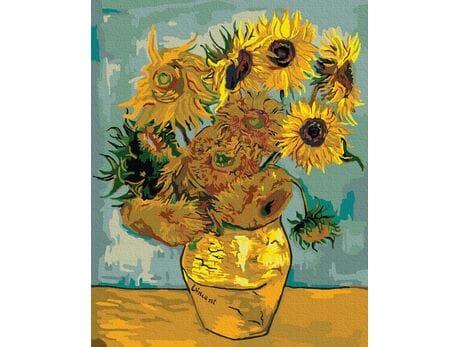 Słoneczniki (Van Gogh) malowanie po numerach