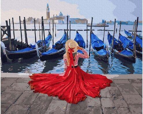 Na molo w Wenecji