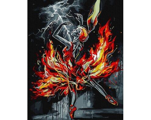 Płonąca baletnica